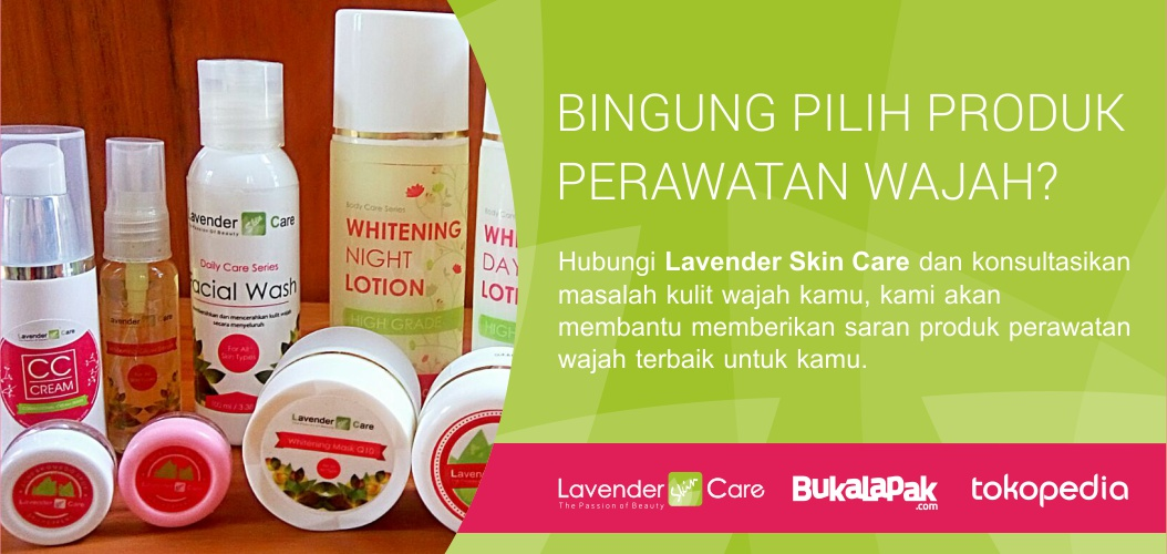 Hubungi Lavender Skin Care