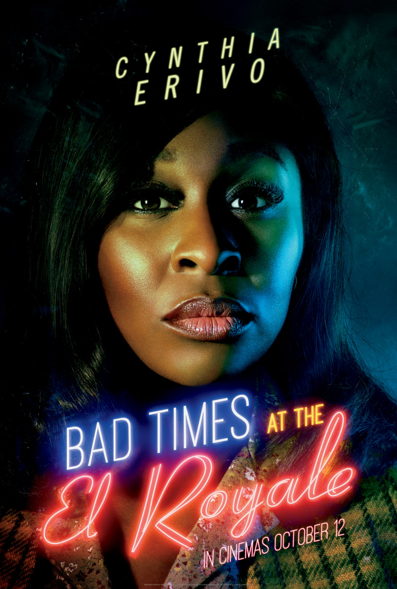 BAD TIMES AT THE EL ROYALE poster cynthia erivo