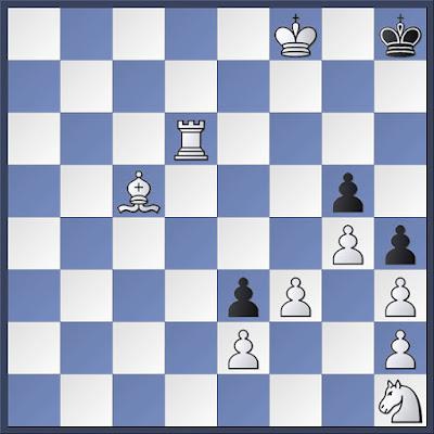 Problema condicionado de ajedrez de B. Horwitz