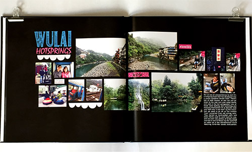 Travel layout template
