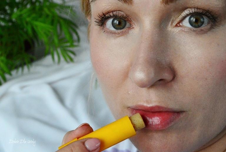 Sylveco Odżywcza pomadka z peelingiem recenzja