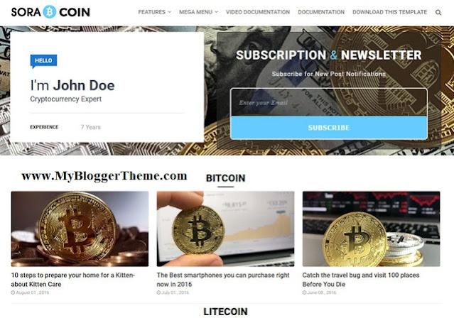 CoinCrypto Website Template