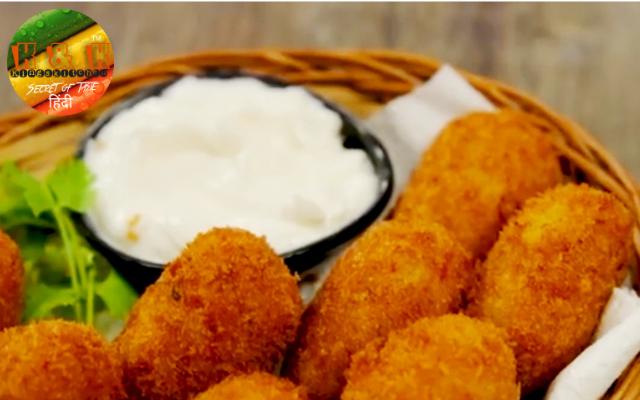 Potato Nuggets Recipe in Hindi
