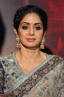 Sri Devi in designer saree stunning beauty at the launch of MOM movie Trailer~  Exclusive 021.JPG