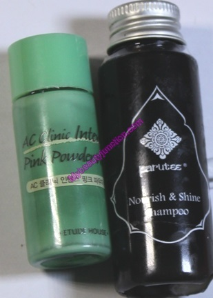 Beauty products emptied in June 2014