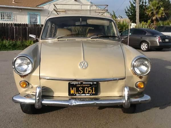 Daily Turismo: 5k: Rare Because It's Stock: 1968 VW Type III Squareback
