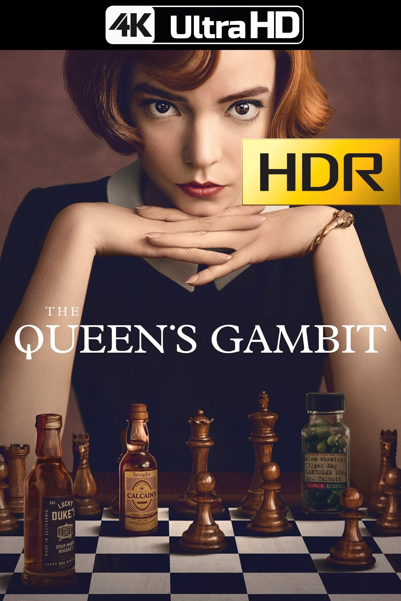 The Queen's Gambit (2020) Temporada 01 NF WEB 4K UHD HDR Latino