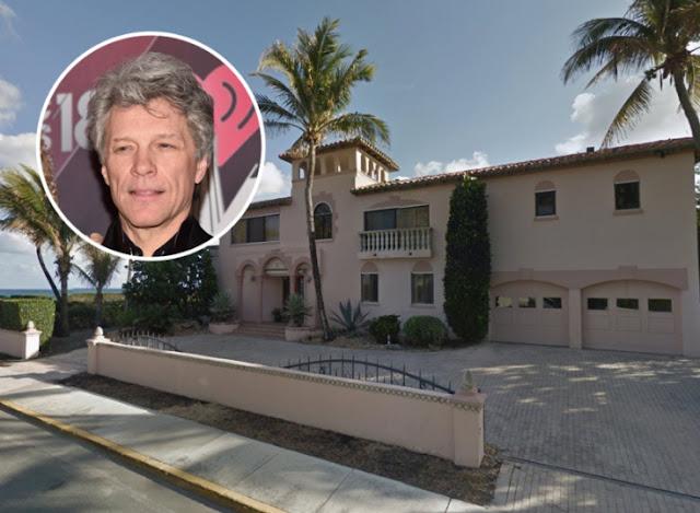 A nova casa na Flórida do músico Jon Bon Jovi (Imagem: Alberto E. Rodriguez/Google Maps)