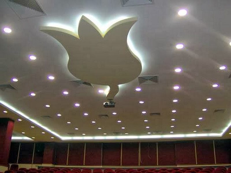 false ceiling led lights ideas - 7 gypsum false ceiling designs for living room part 1