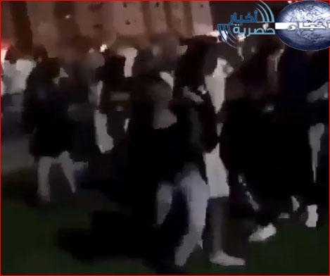 مقطع فيديو مضاربة فتاة مع شاب في السعودية الان