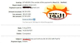 ربح المال من موقع رفع الملفات 8 دولار على ألف تحميل