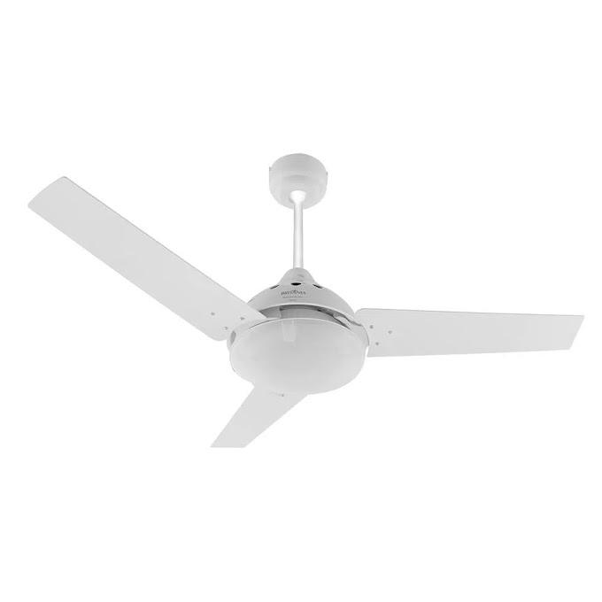 Ventilador de Teto Britânia Cancun BVT01B 3 em 1 com 126W e 3 Velocidades - Branco 220V