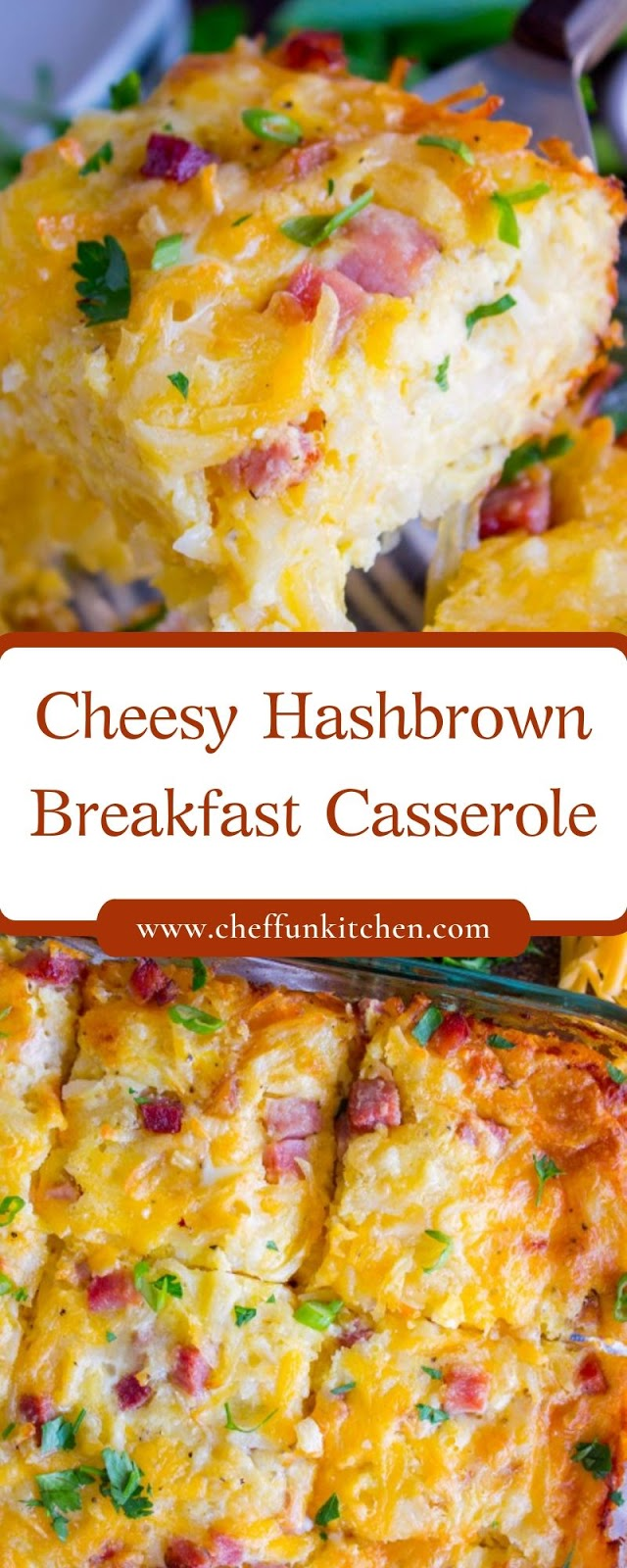 Cheesy Hashbrown Breakfast Casserole