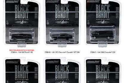 GreenLight Desember Release : Black Bandit Series 16