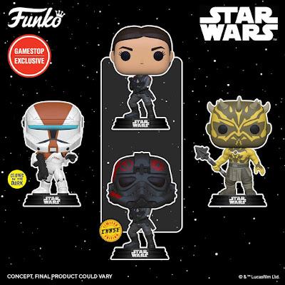 GameStop Exclusive Star Wars Gaming Greats Pop! Vinyl Figures by Funko
