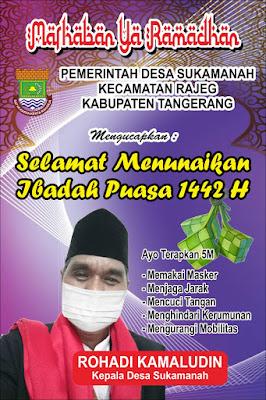 Iklan Ucapan Ramadhan 1442 H