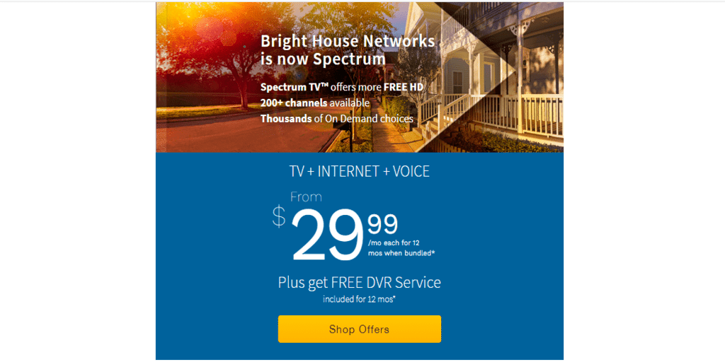 brighthouse cable and internet service provider company in the united states