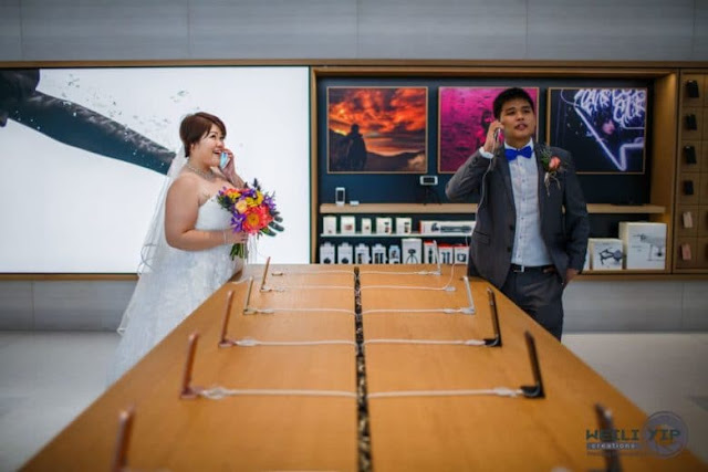 When Apple Store So Venue Wedding Photos