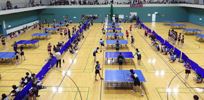 札幌中体連卓球2016
