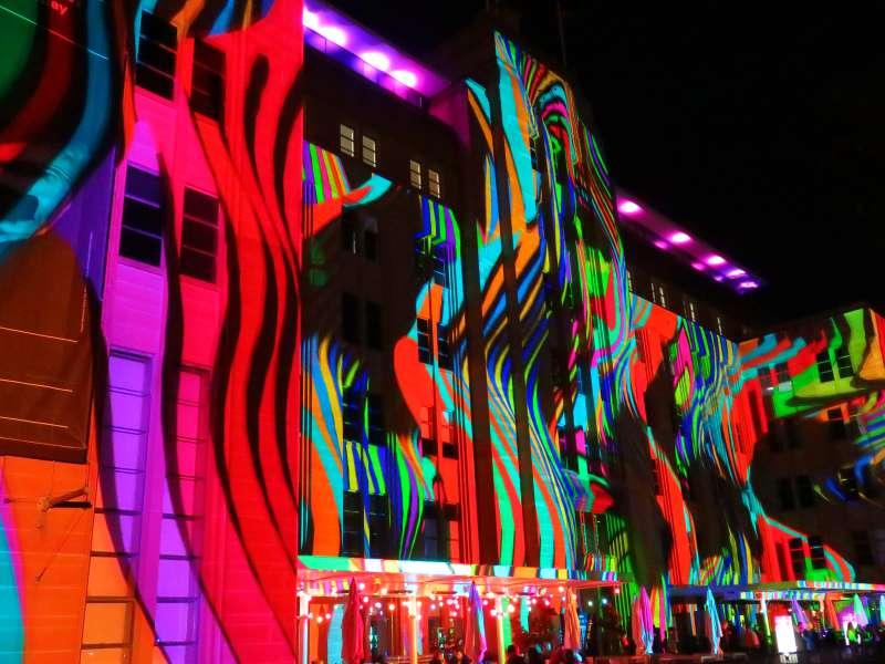 Vivid Sydney MCA Building