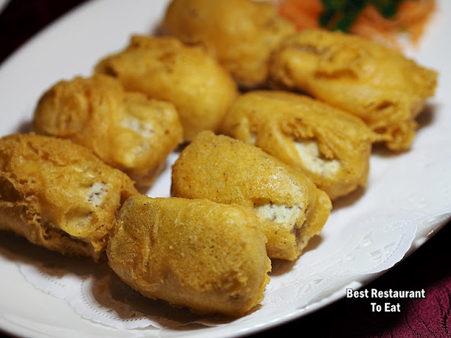 Li Yen CNY 2019 Menu - Deep-Fried Glutinous Rice Cakes with Yam