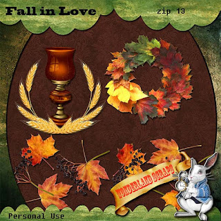 Another day of Fall In Love freebie