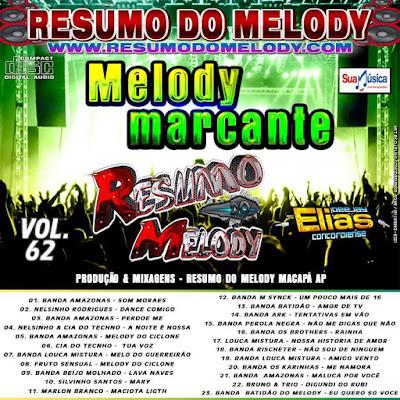 Cd Resumo do Melody vol.62