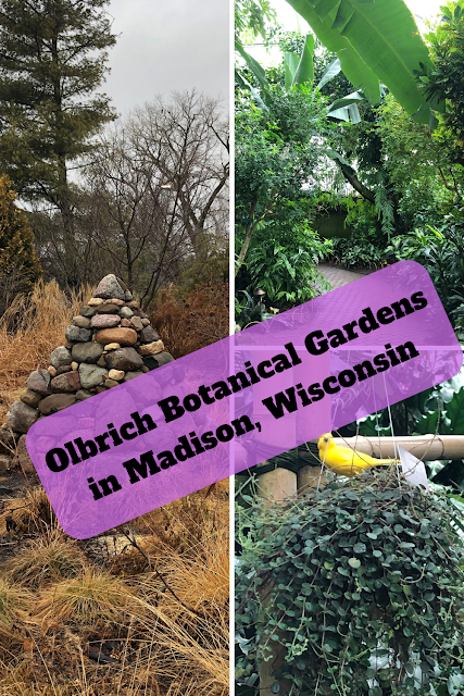 Olbrich Botanical Gardens in Madison, Wisconsin: Winding Paths of Introspection