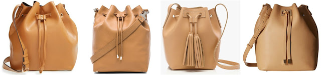 One of these bucket bags is from Proenza Schouler for $1,650 and the other three are under $100. Can you guess which one is the designer bag? Click the links below to see if you are correct!