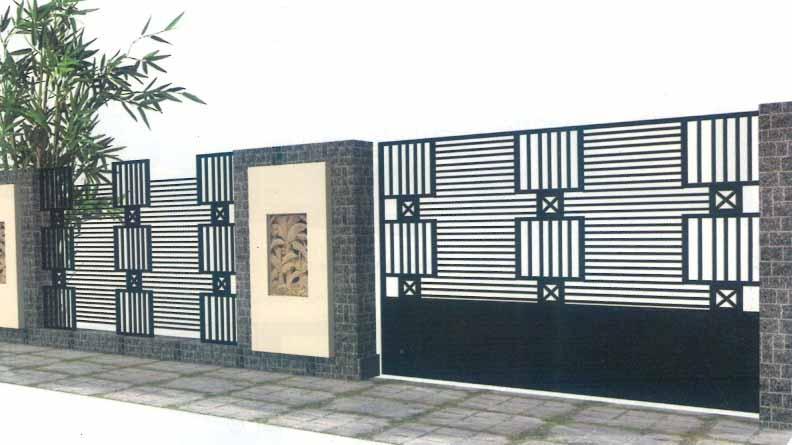 5800 Gambar Pagar Rumah Minimalis Modern Gratis
