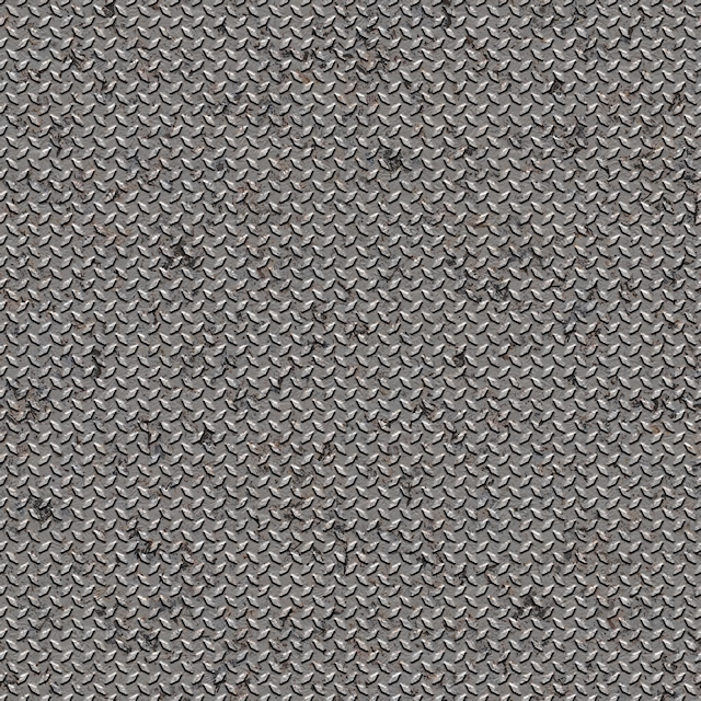 Seamless dirty metal diamond studs texture