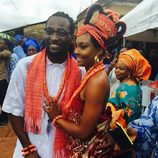 Celebrity Wedding Nollywood Movie: Osas Ighodaro & Gbenro Ajibade's Wedding Pictures..See