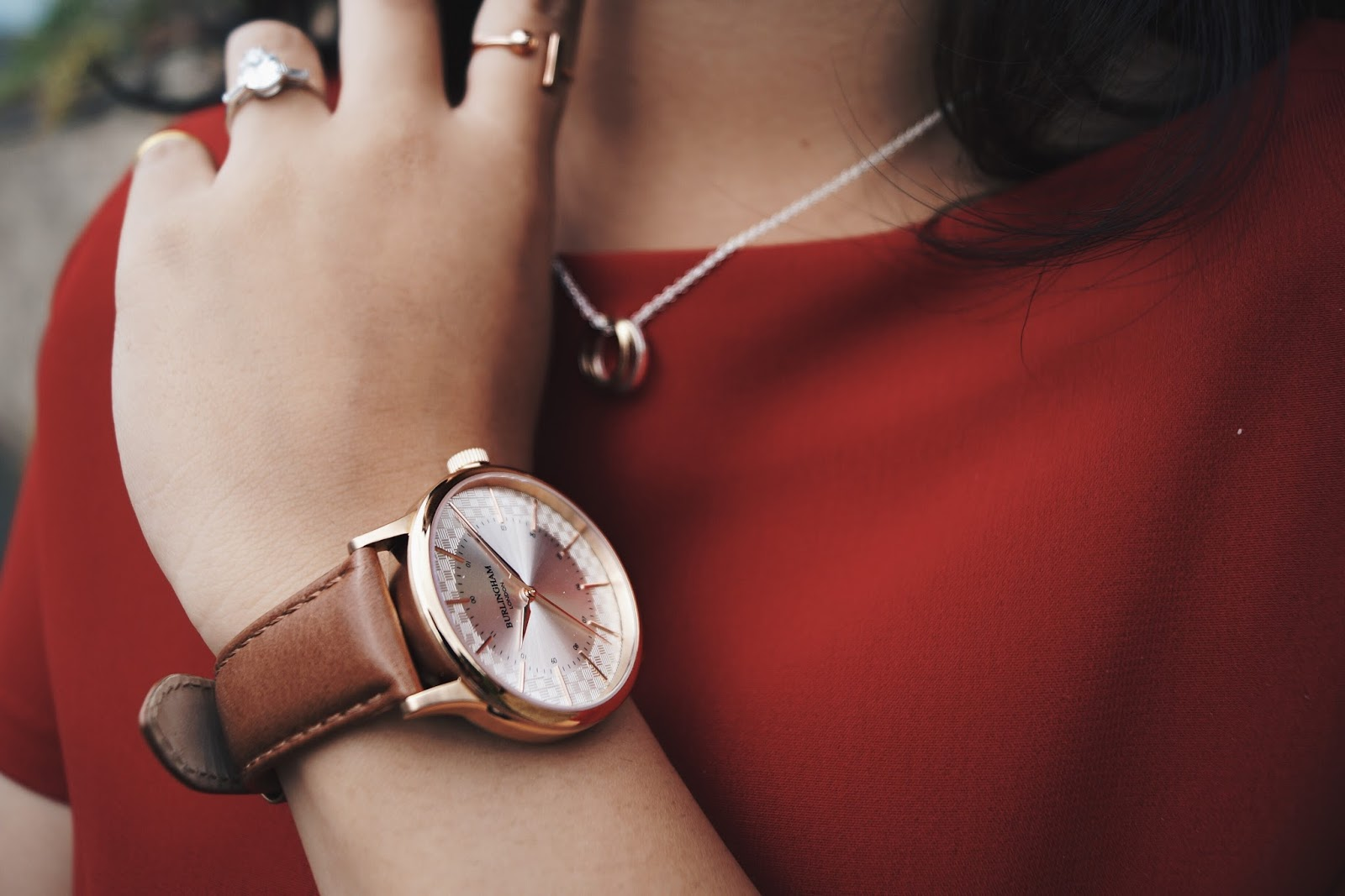 Ana Maddock- Red Valentino Burlingham London Watches