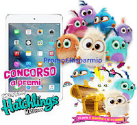 Logo ''Speciale Hatchies''. vinci gratis 6 Ipad Mini 4 Wi-Fi 128GB