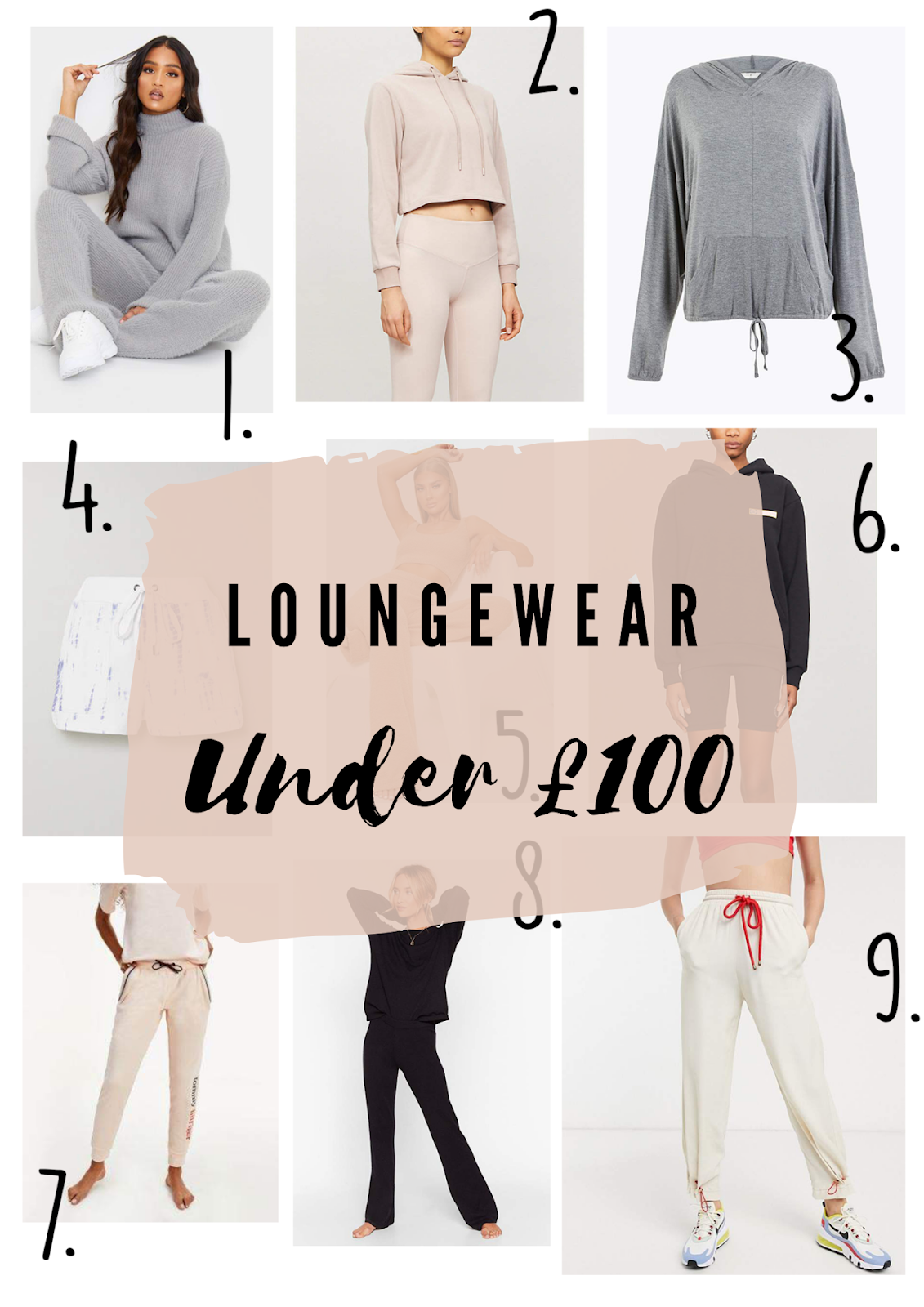 cheap loungewear, beige loungewear, loungewear uk,lounge wear sets, loungewear asos,  loungewear prettylittlething, loungewear nasty gal, loungewear missguided, working from home clothes, comfy clothes, comfy clothes to work from home,