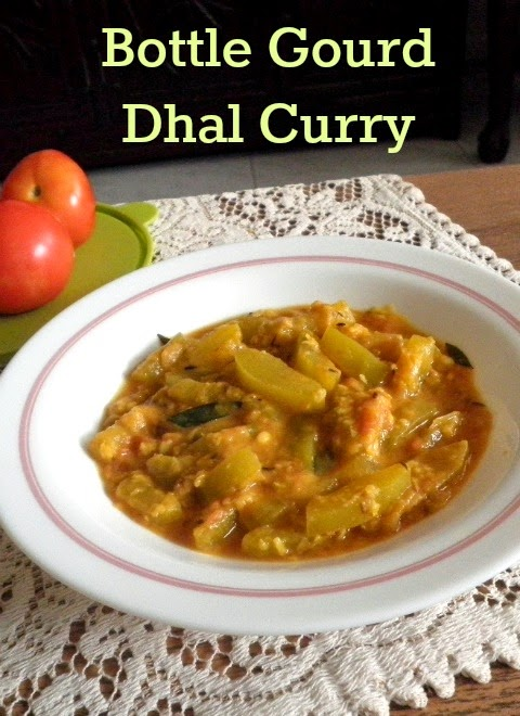 Bottle Gourd Dhal Curry  Recipe @ treatntrick.blogspot.com