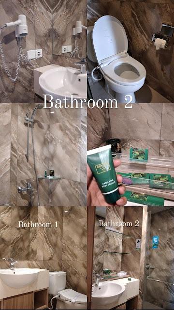 Bathroom senyum world hotel