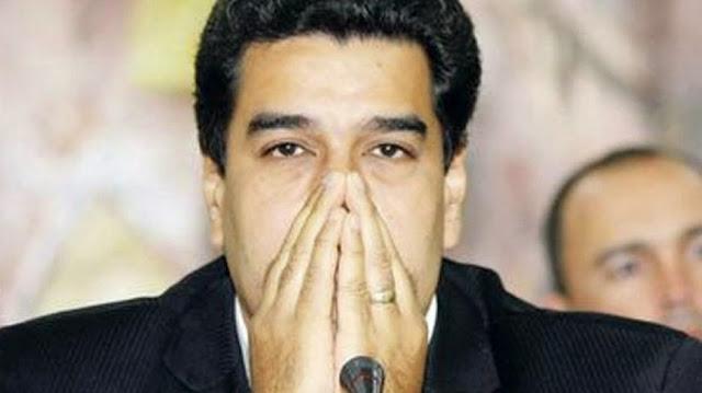 Nicolas Maduro preocupado