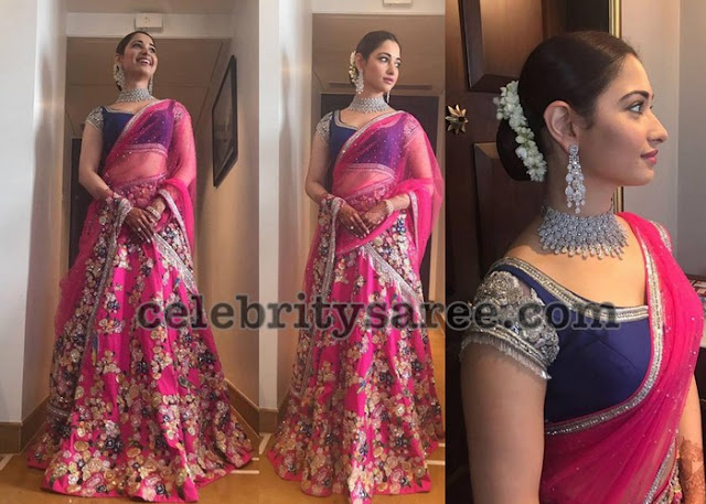 Tamannah Grand Half Saree