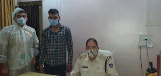 एक और शातिर बदमाश रूपेन्द्र साहू एन.एस.ए. में गिरफ्तार