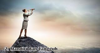 Mandiri dan Tangguh merupakan salah satu tanda kamu adalah penerus Kartini sesungguhnya