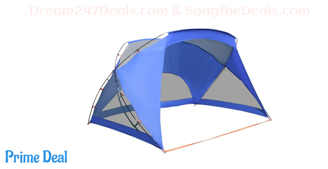 35% off ALPHA CAMP Sports/Beach Shelter Easy Up Sun Shade - 9' x 6' (all color)