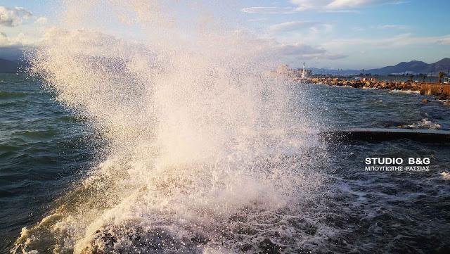 Λιμεναρχείο Ναυπλίου: Συνεχίζουν τα μποφόρ στο Νοτιοδυτικό Αιγαίο
