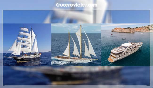 cruceros en velero