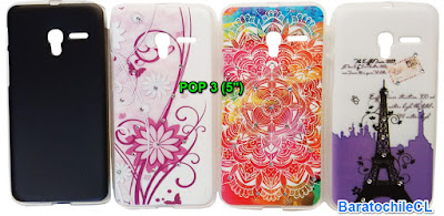 Carcasa Gel Alcatel POP 3 5 pulgadas