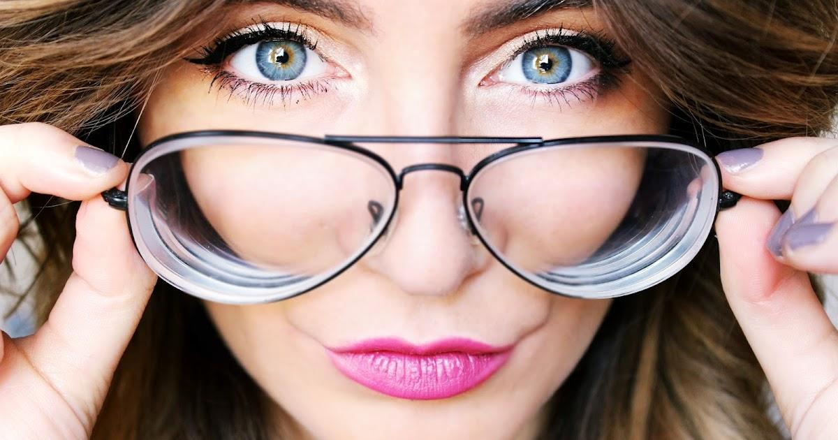Se maquiller avec des lunettes mes astuces ur little feather - Maquillage avec lunette ...
