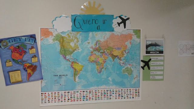 map bulletin board country spotlight