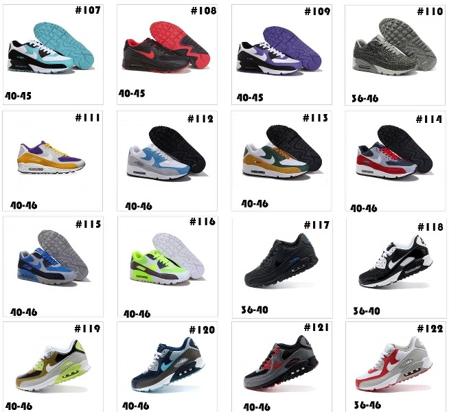 meilleur site web f54b6 27f5d KATALOG PRODUKTÓW: Dostępne modele Nike Air Max 90