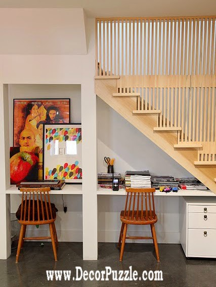 under stairs ideas and storage solutions, under stairs study area