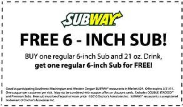 subway printable coupons may 2018 printable coupon codes 2018